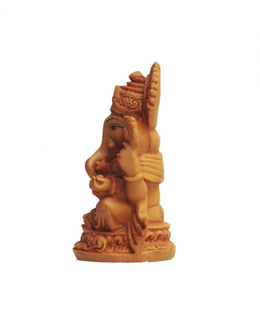 Ganesha Statue for Car-side view