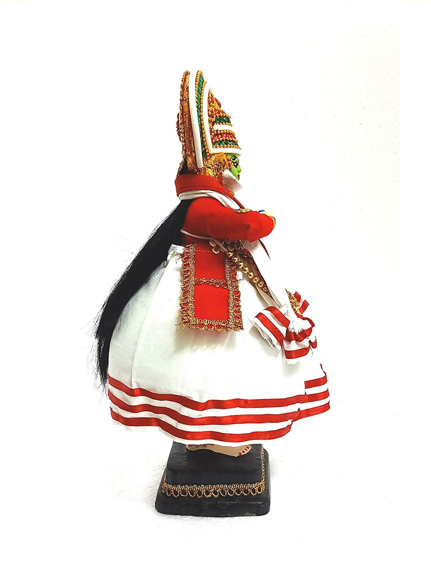 Kathakali Doll- side view