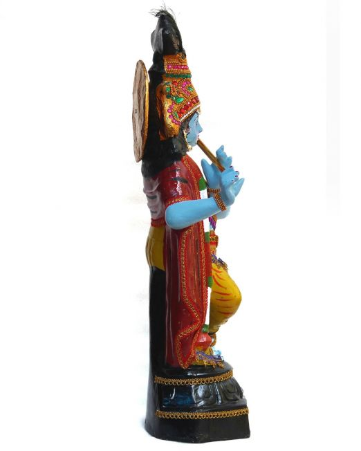 Krishna Idol-side view