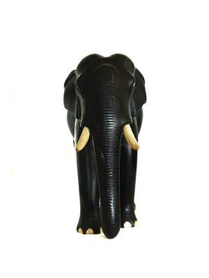 Wood Carved Elephant Kerala