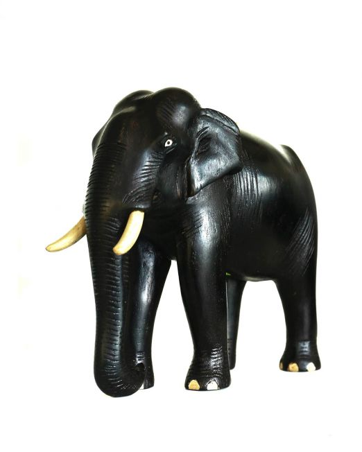 Wood Carved Elephant