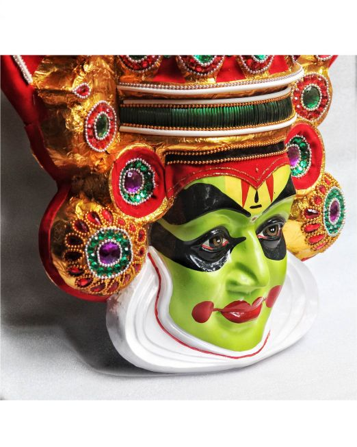 large kathakali wall hanging mask-online