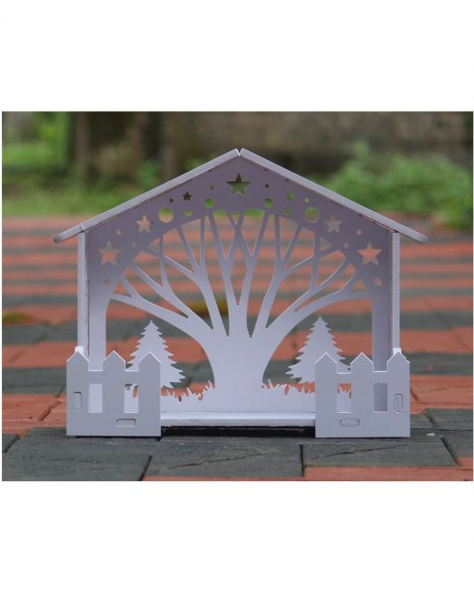 Wooden Christmas Crib Set Online